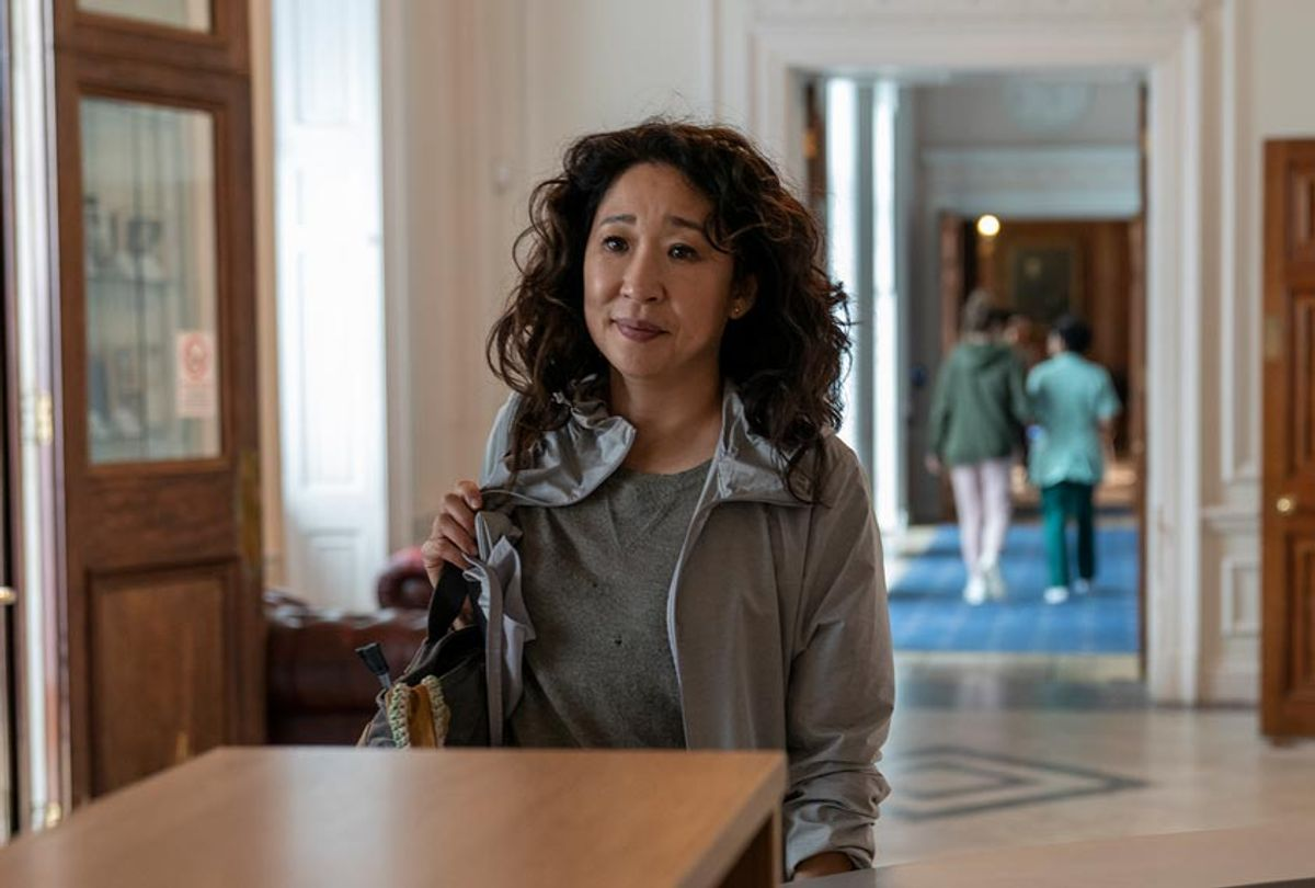 "Sandra Oh as Eve Polastri in ""Killing Eve"" (Des Willie/BBCA)"