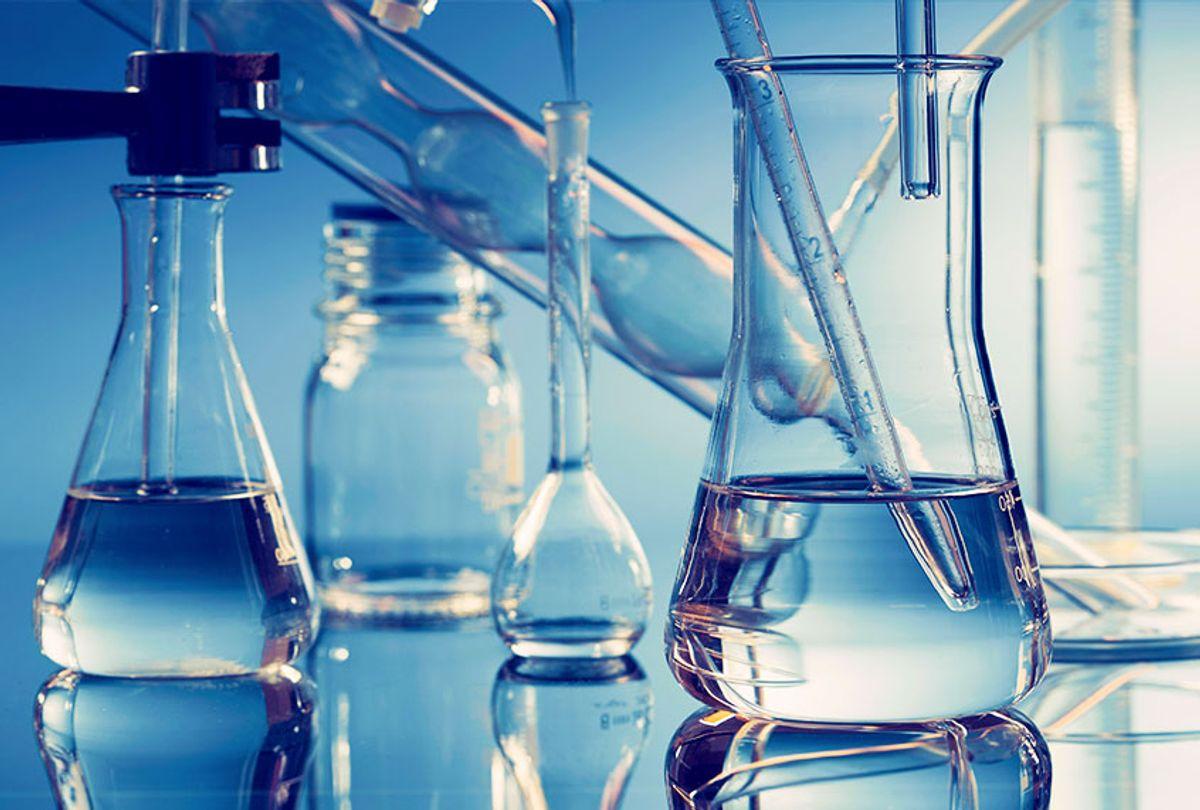 Laboratory glassware (Getty Images)