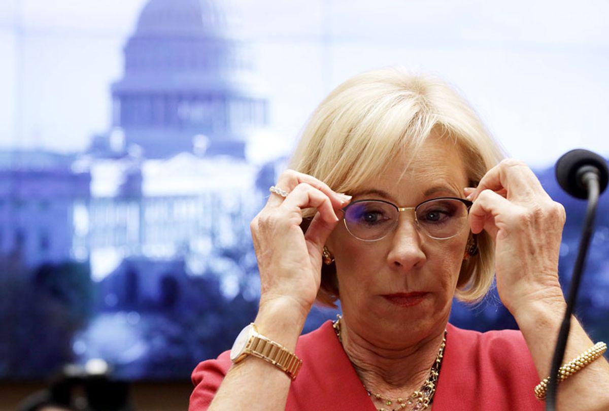 U.S. Secretary of Education Betsy DeVos (Alex Wong/Getty Images)