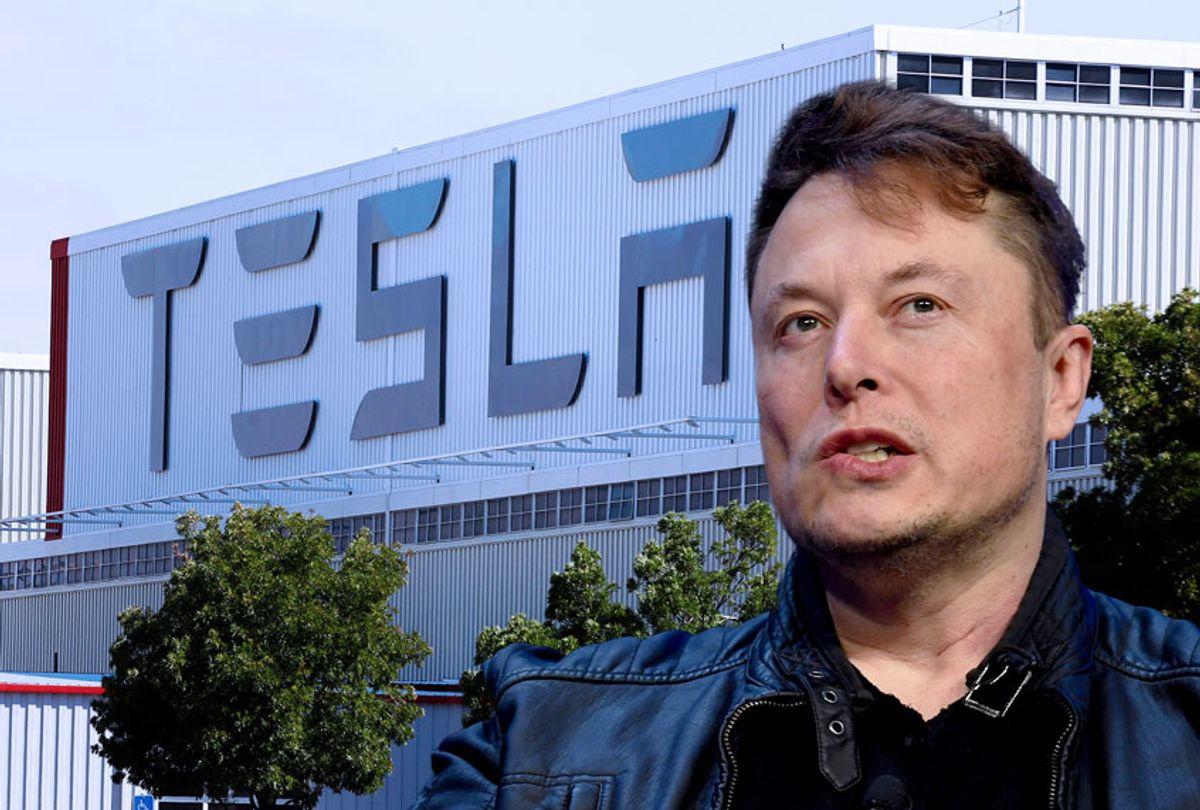 Elon Musk   Tesla Factory (Salon/Getty Images)