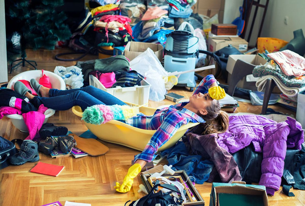 Cleaning a big mess (Getty Images)
