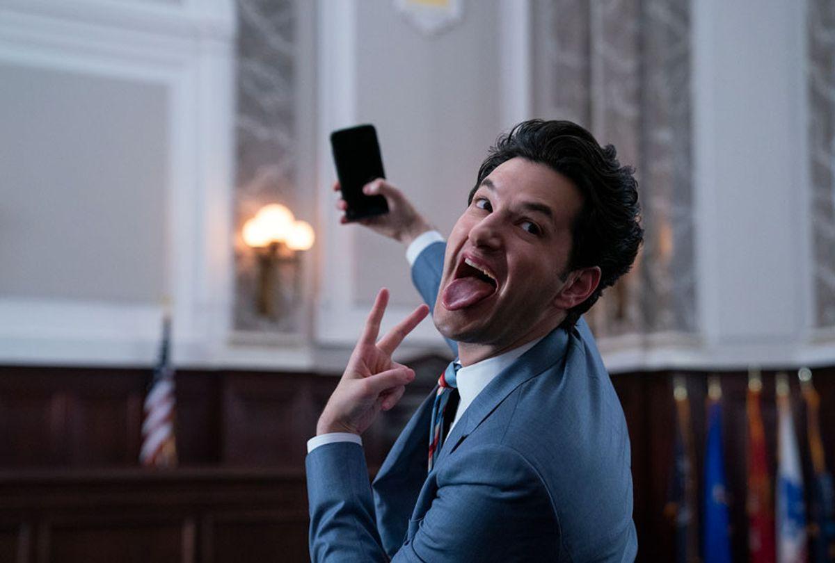 "Ben Schwartz in ""Space Force"" (Netflix)"