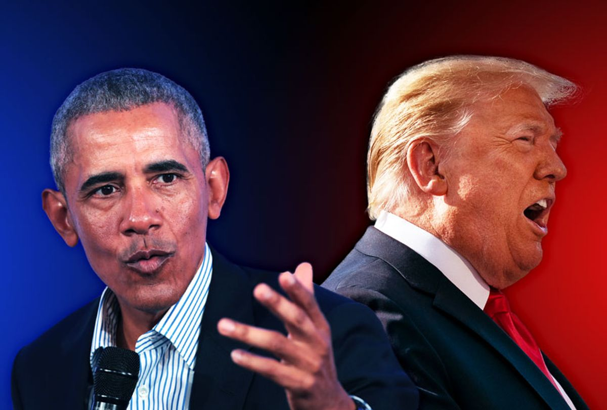 Barack Obama and Donald Trump (Photo illustration by Salon/Getty Images)