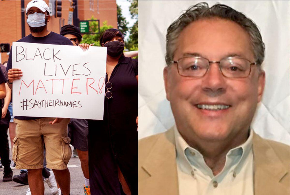 Black Lives Matter protesters   Phoenix, Oregon Mayor Chris Luz (Getty Images/Office of the City of Phoenix/Salon)