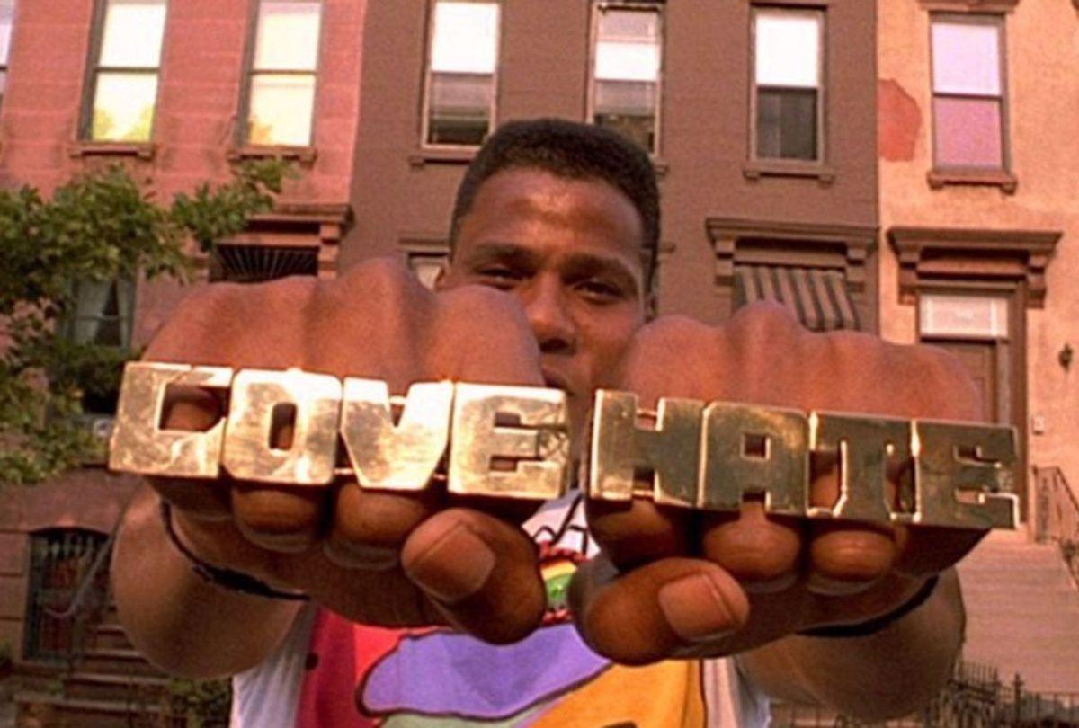 "Bill Nunn as Radio Raheem in ""Do The Right Thing"" (Universal)"
