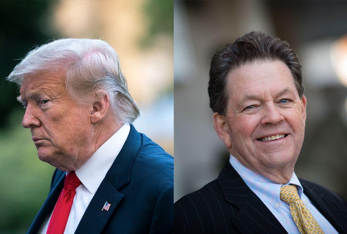 Donald Trump and Art Laffer (Getty Images/Salon)