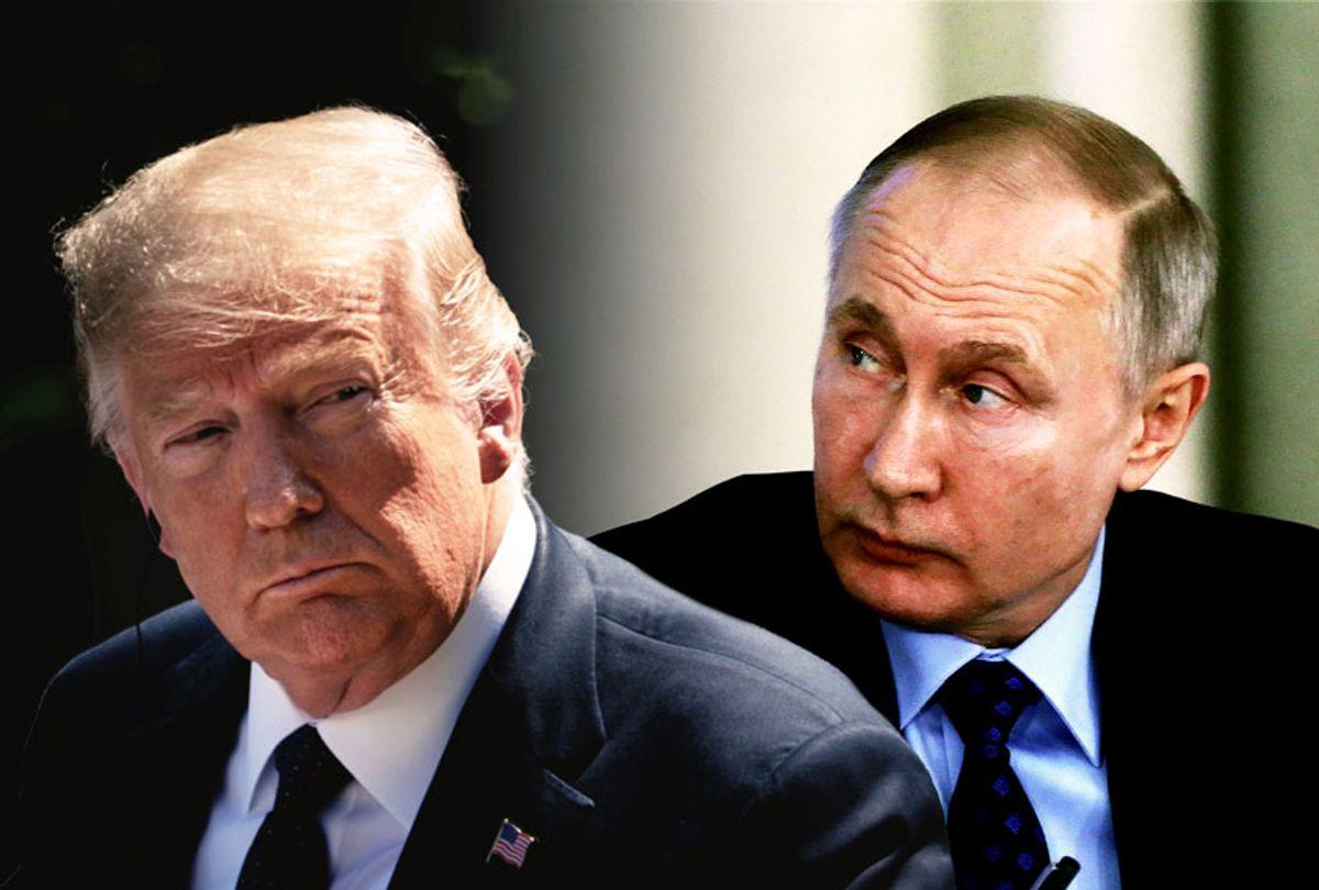 Donald Trump and Vladimir Putin (Getty Images/Salon)