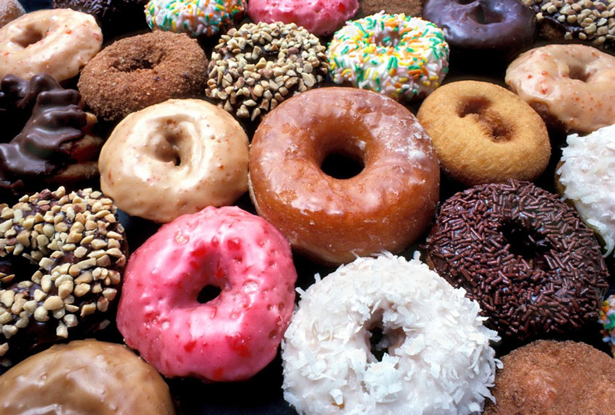 Various types of doughnuts (Getty Images)