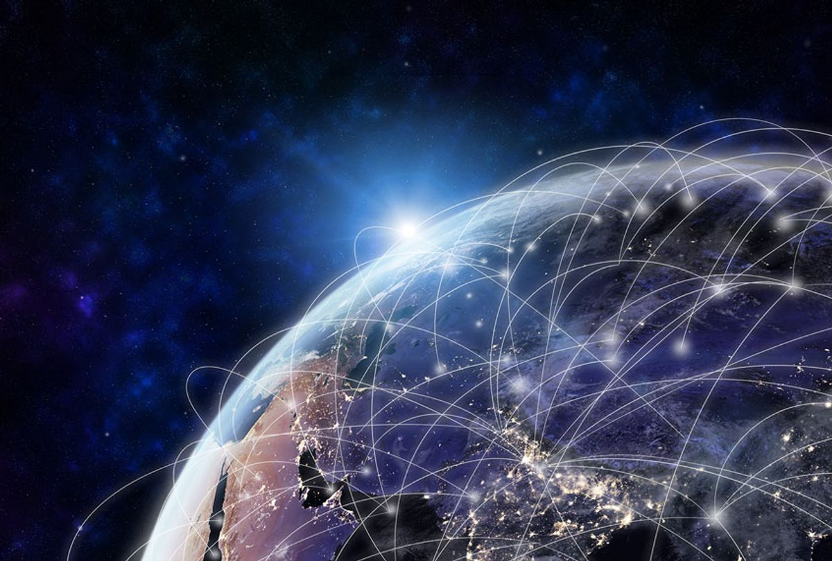 Global network modern creative telecommunication and internet connection (Getty Images)
