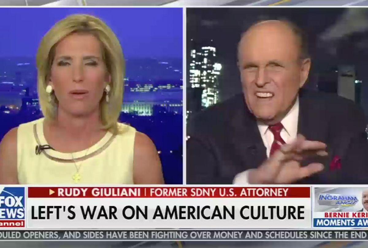 From the June 22, 2020, edition of The Ingraham Angle (Fox News)