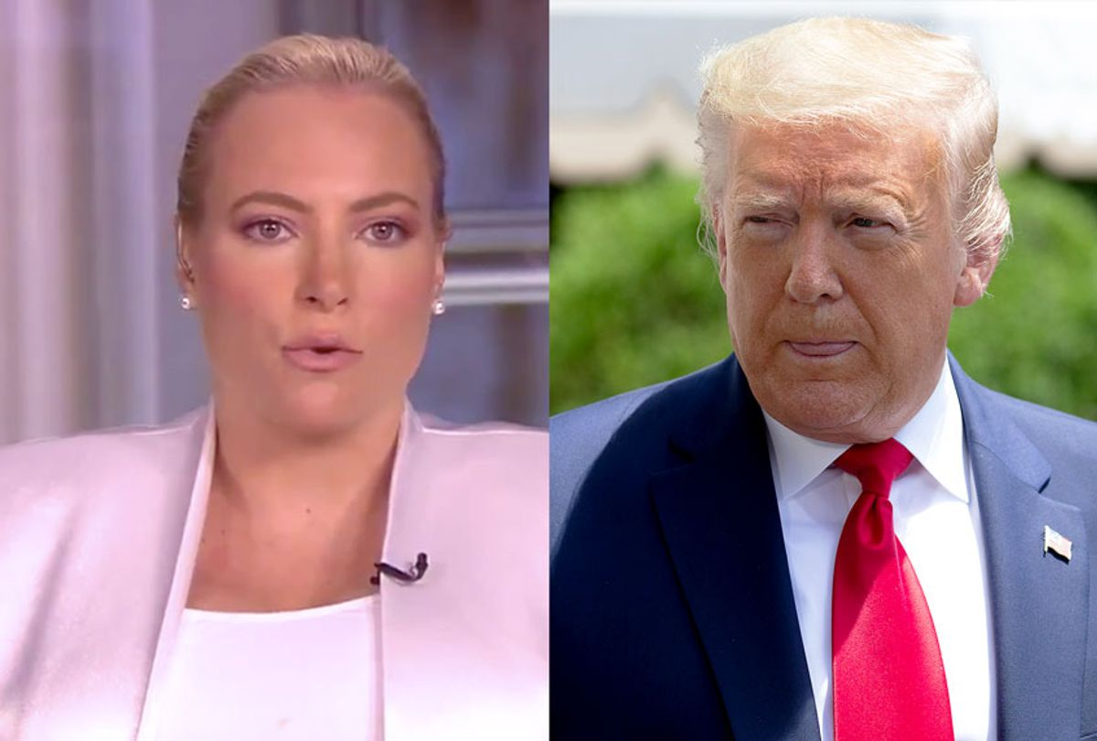 Meghan McCain and Donald Trump (Salon/ABC/Getty Images)