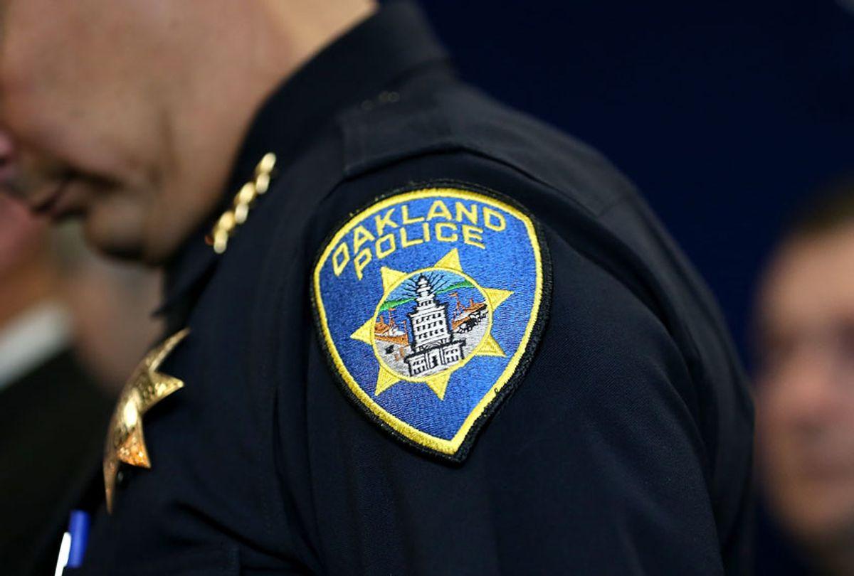 Oakland Police officer (Justin Sullivan/Getty Images)