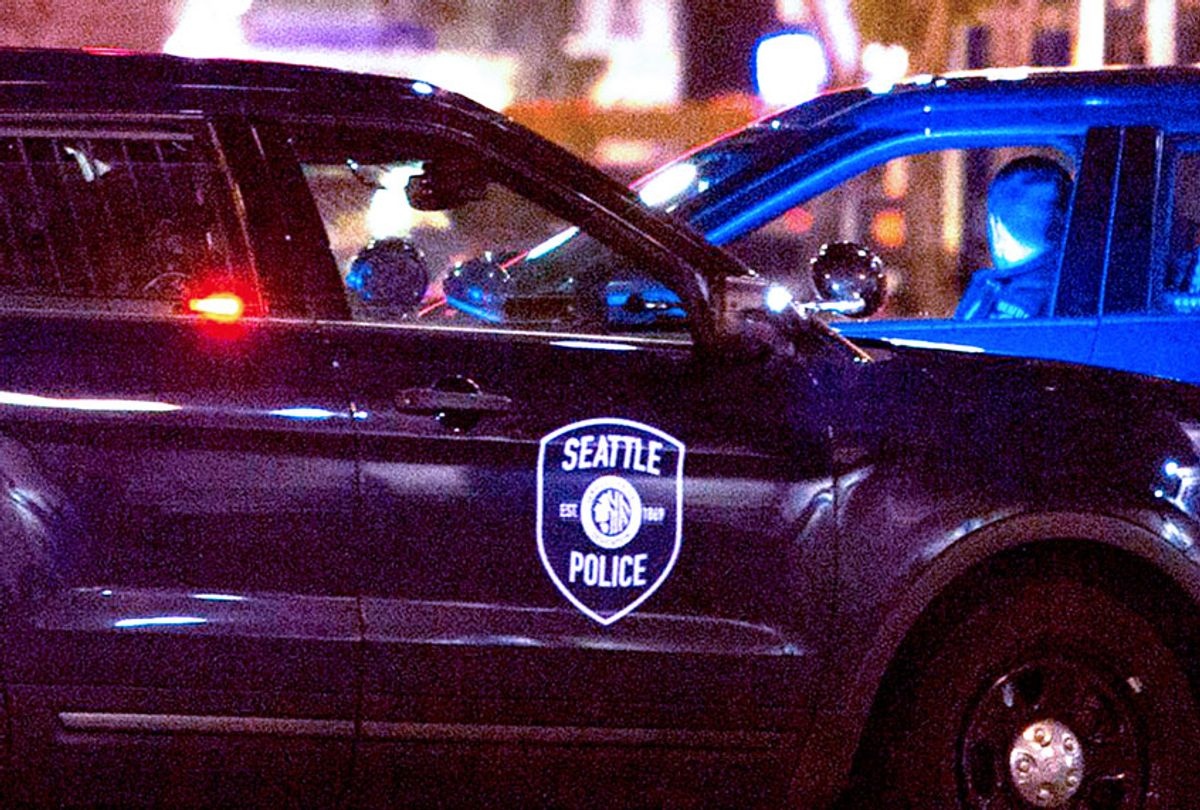 Police cars Seattle, Washington (Getty Images)