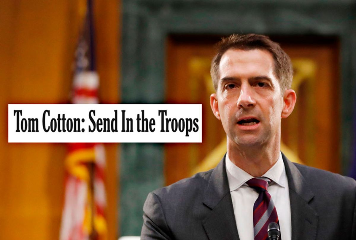 Sen. Tom Cotton (ANDREW HARNIK/POOL/AFP via Getty Images)