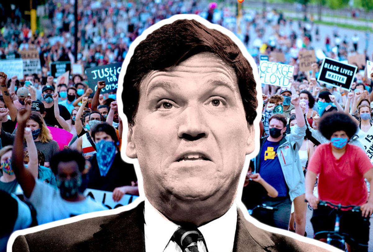 Tucker Carlson (Photo illustration by Salon/Getty Images)