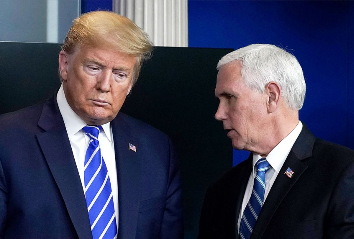 U.S. President Donald Trump and Vice President Mike Pence (Drew Angerer/Getty Images)