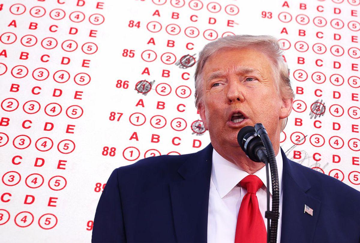 Donald Trump | SAT Test (Getty Images/Salon)