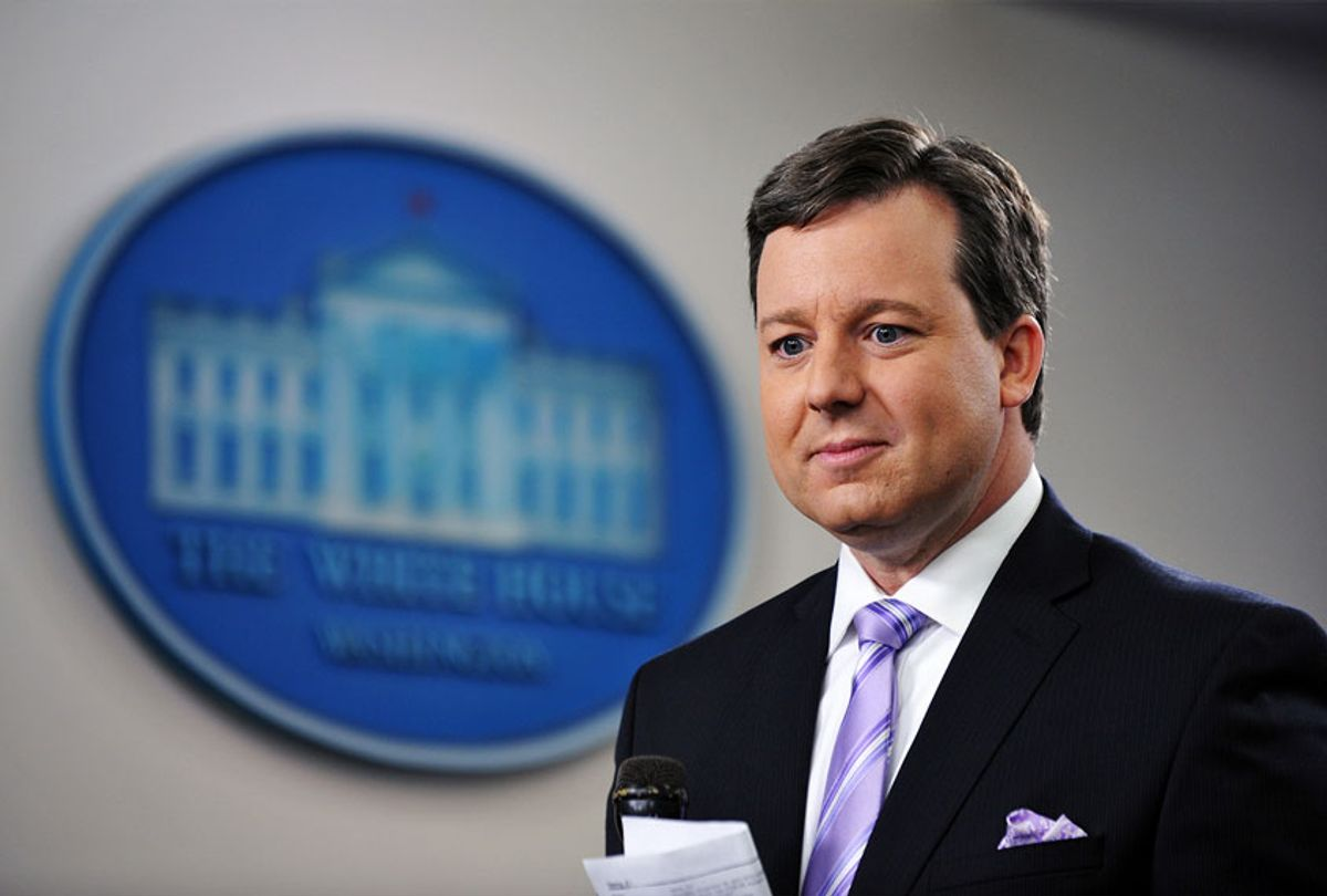 Fox News White House correspondent Ed Henry (MANDEL NGAN/AFP via Getty Images)