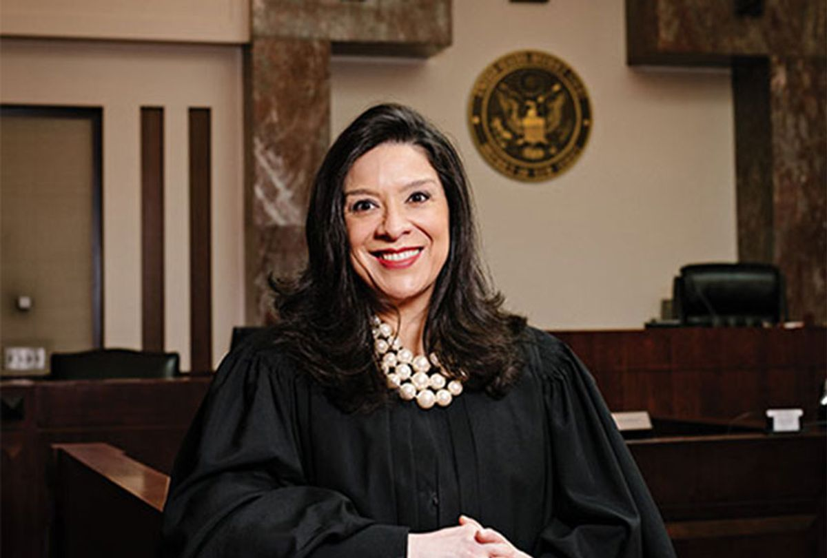Federal Judge Esther Salas (Photo provided by Historical Society of the United States District Court for the District of New Jersey/Axel Dupeux)