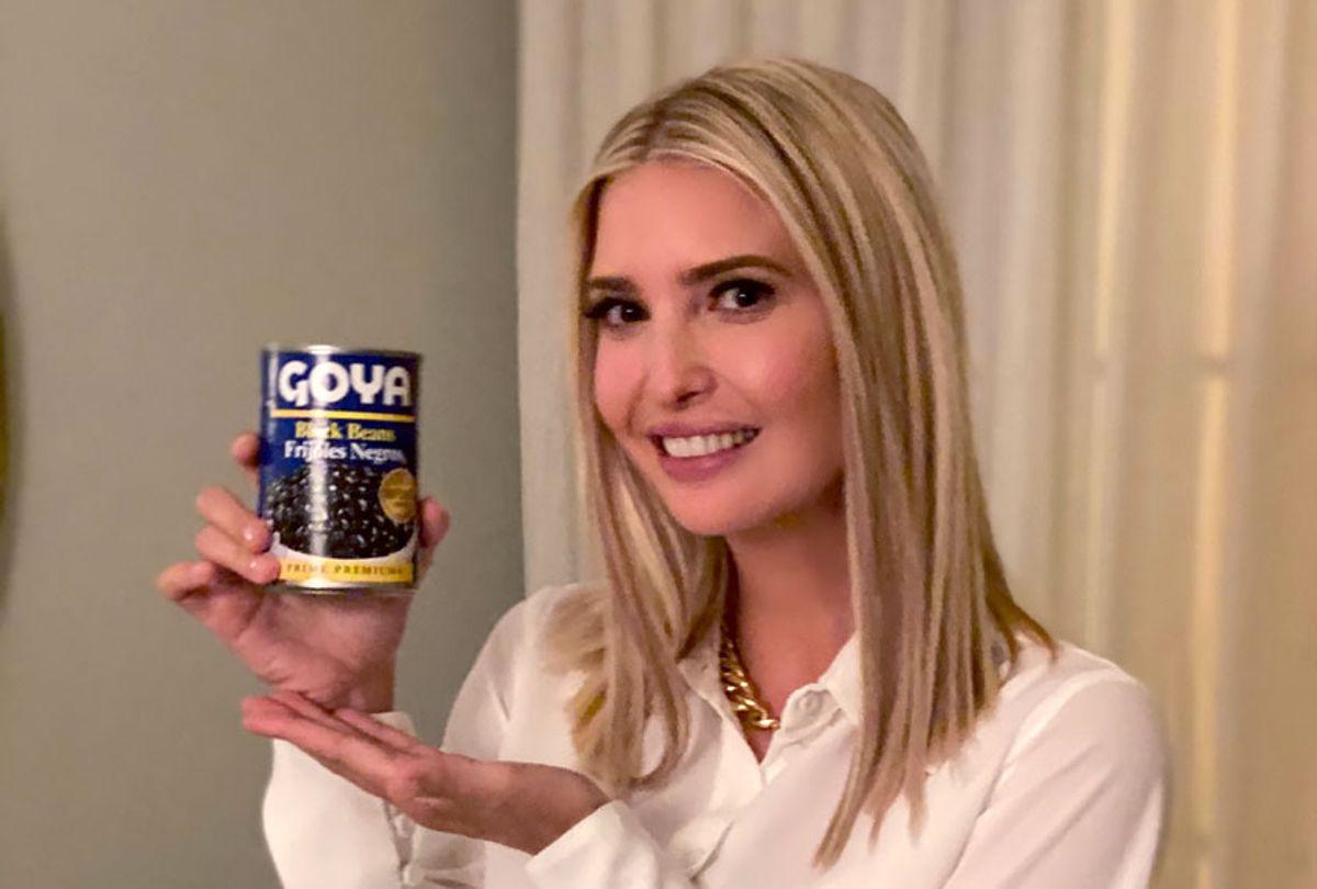 Ivanka Trump advertising Goya (@IvankaTrump/Twitter)
