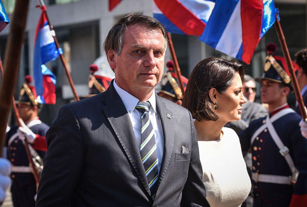 President of Brazil Jair Bolsonaro (Carlos Lebrato/Anadolu Agency via Getty Images)
