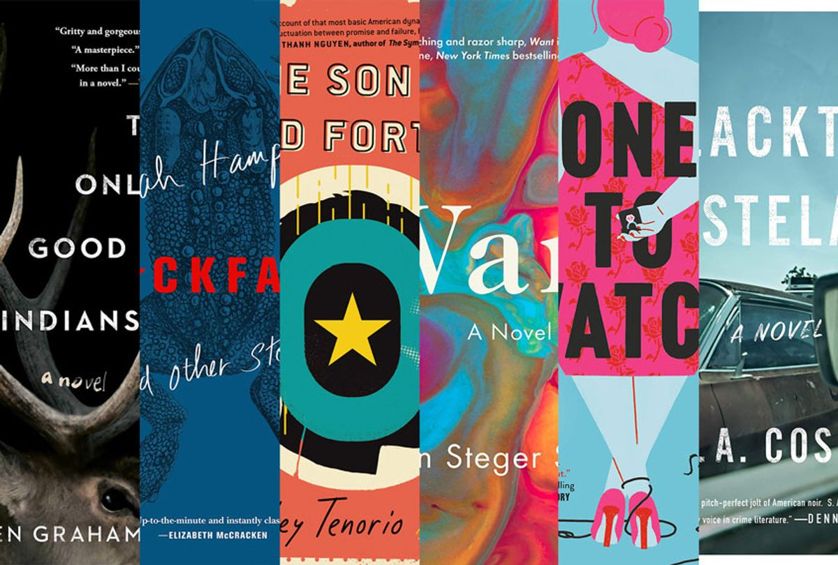 July Reading List (Salon/Henry Holt and Co./Dial Press Trade/Flatiron Books/Ecco/Gallery/Saga Press)