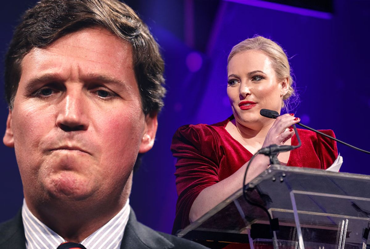 Meghan McCain and Tucker Carlson (Photo illustration by Salon/Getty Images)