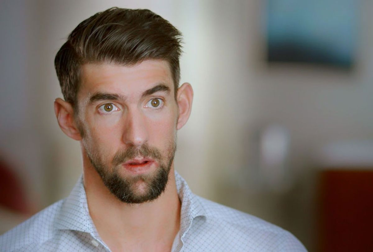 """Michael Phelps in """"Weight of Gold"""" (HBO Sports)"""
