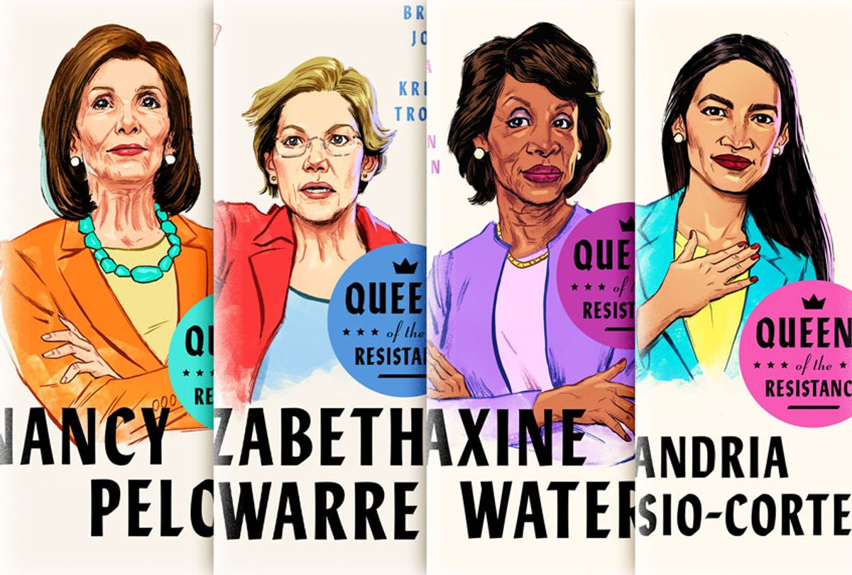 Queens of the Resistance (Cover images provided by Random House / Salon)