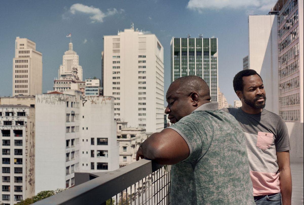 """OC Ukeje and Ike Barry in """"Shine Your Eyes"""" (Netflix)"""