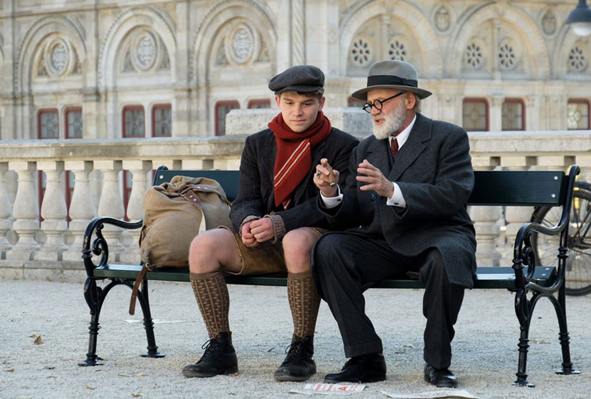 """Simon Morzé and Bruno Ganz in """"The Tobacconist"""" (Vertical Entertainment)"""