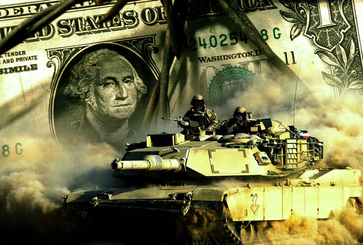Military funding concept (Getty Images/Salon)