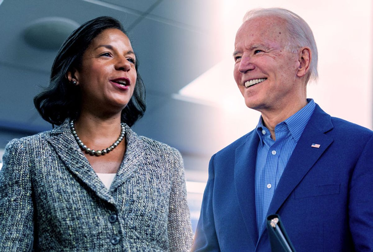 Joe Biden and Susan Rice (Getty Images/Salon)