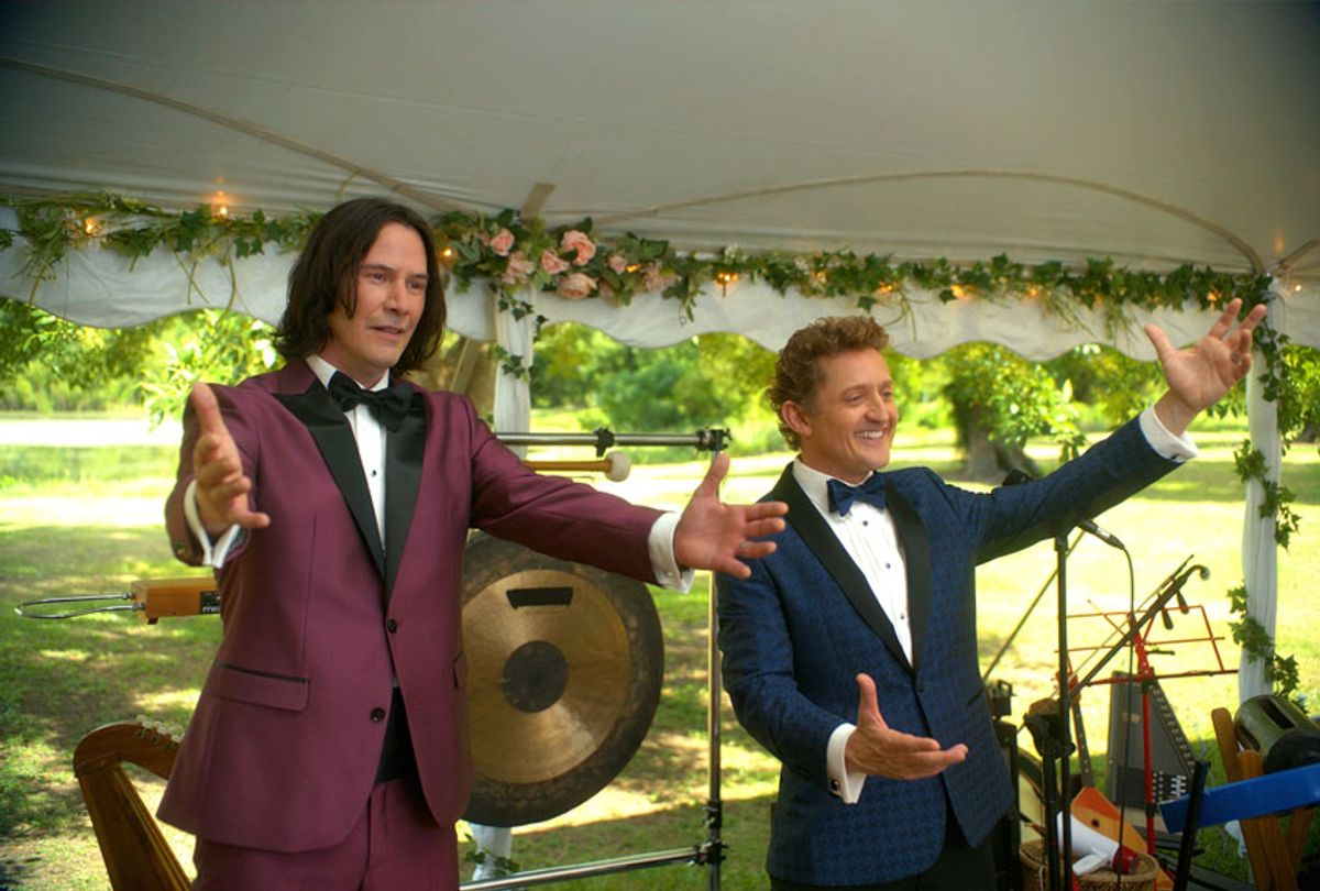 """Keanu Reeves and Alex Winter in """"Bill & Ted Face the Music"""" (Orion Picutres)"""