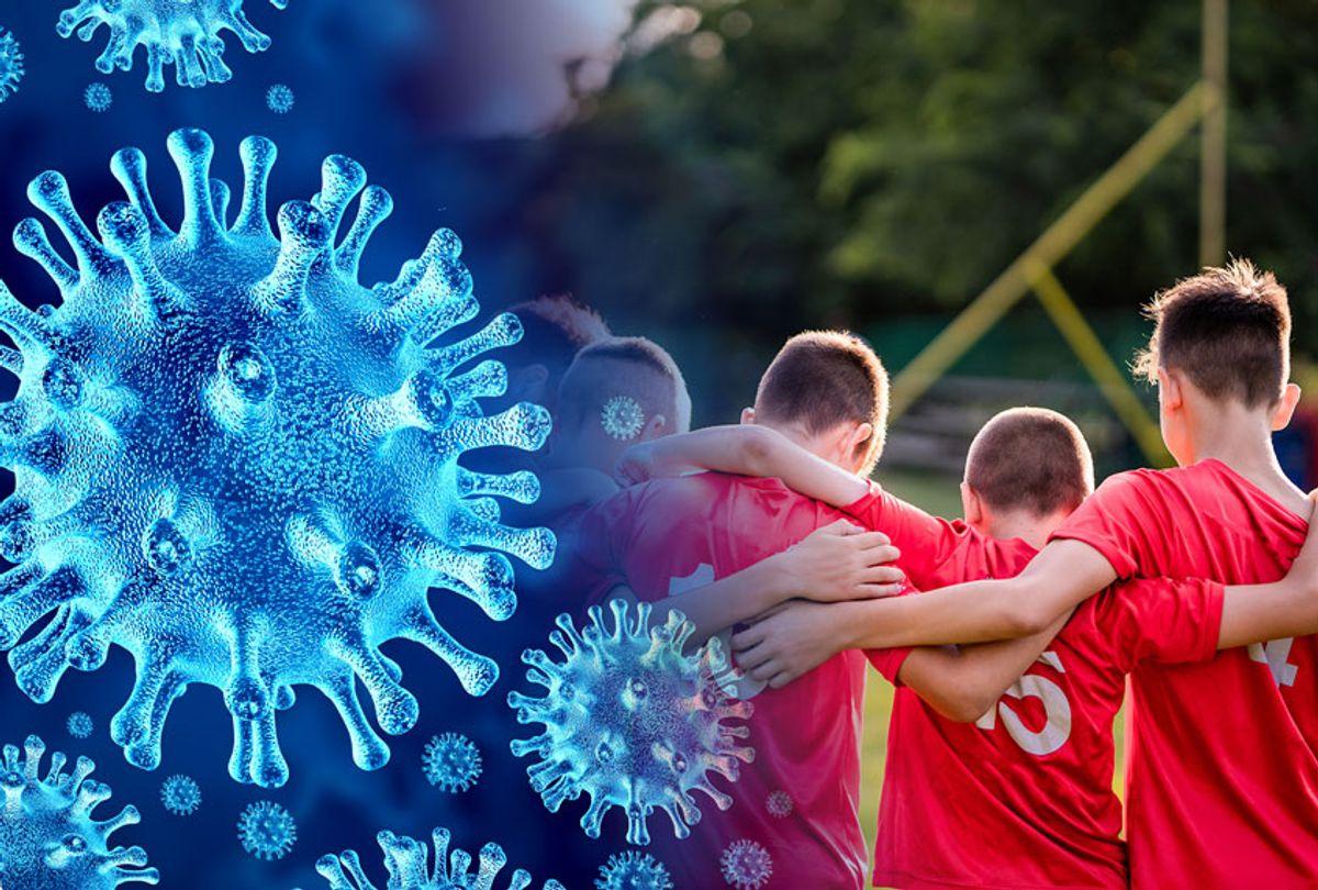 Coronavirus | Kids at camp on a sports team (Getty Images/Salon)