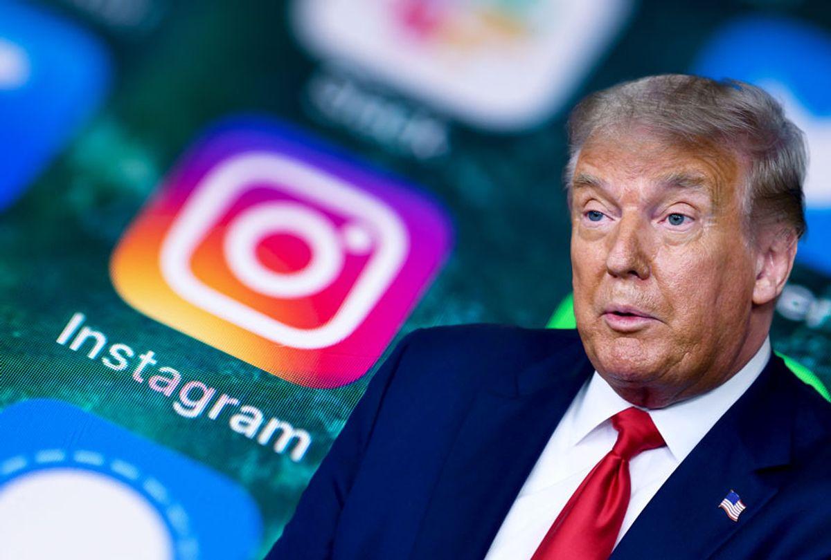 Donald Trump | Instagram (Getty Images/Salon)