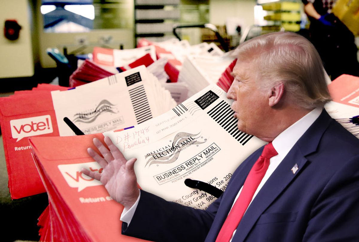 Donald Trump | Mail in Ballots (Getty Images/Salon)