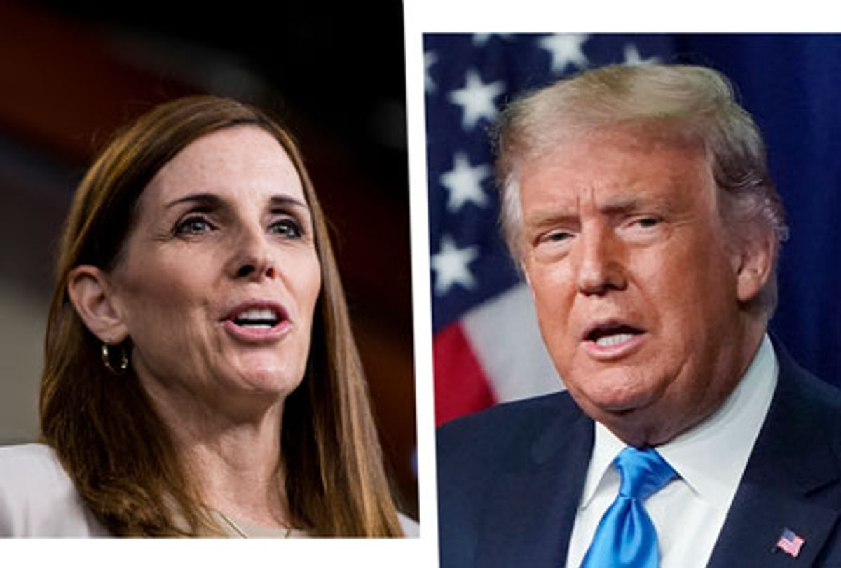 Martha McSally and Donald Trump (Photo illustration by Salon/Getty Images)