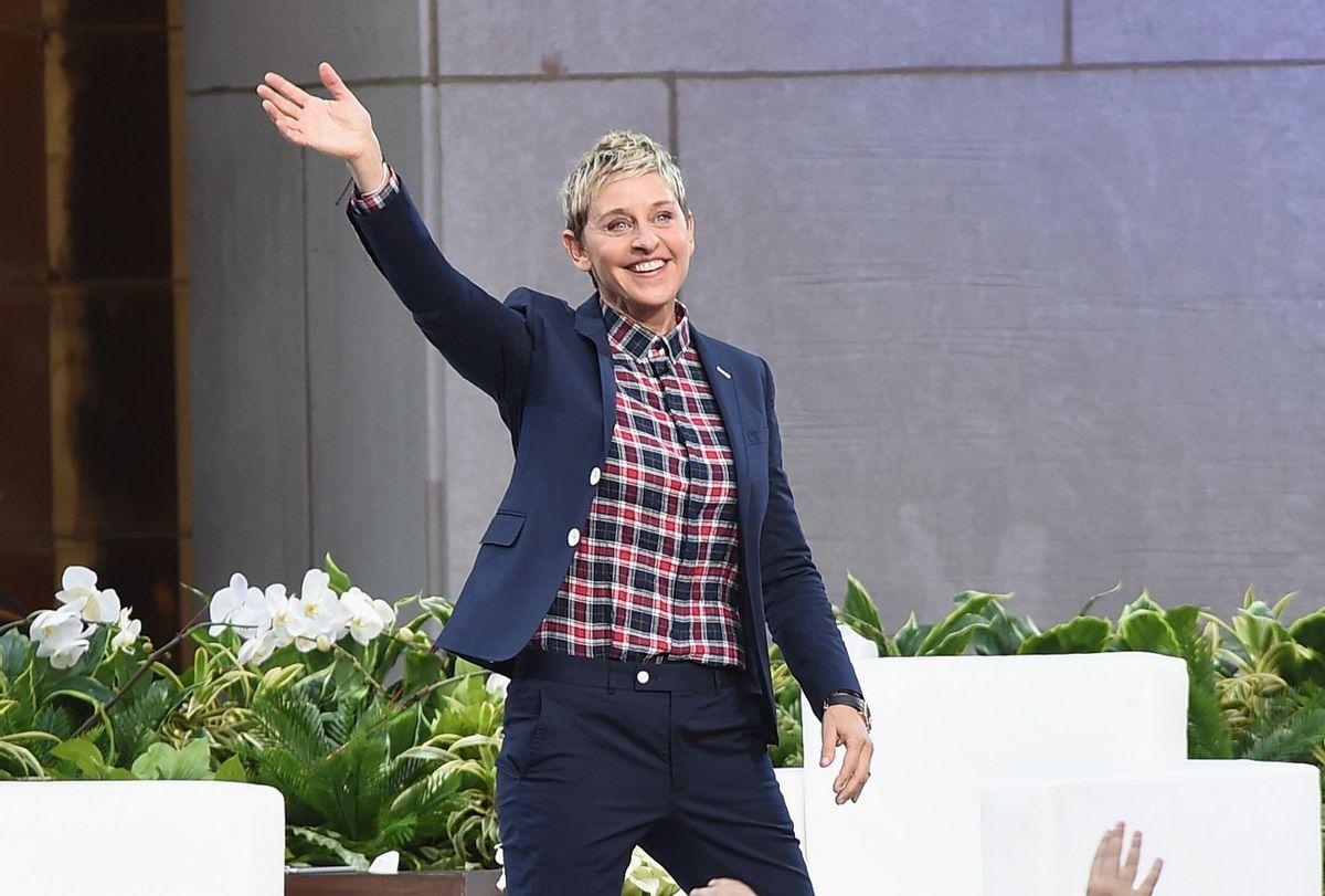 """Ellen DeGeneres Show""  (Laura Cavanaugh/FilmMagic)"