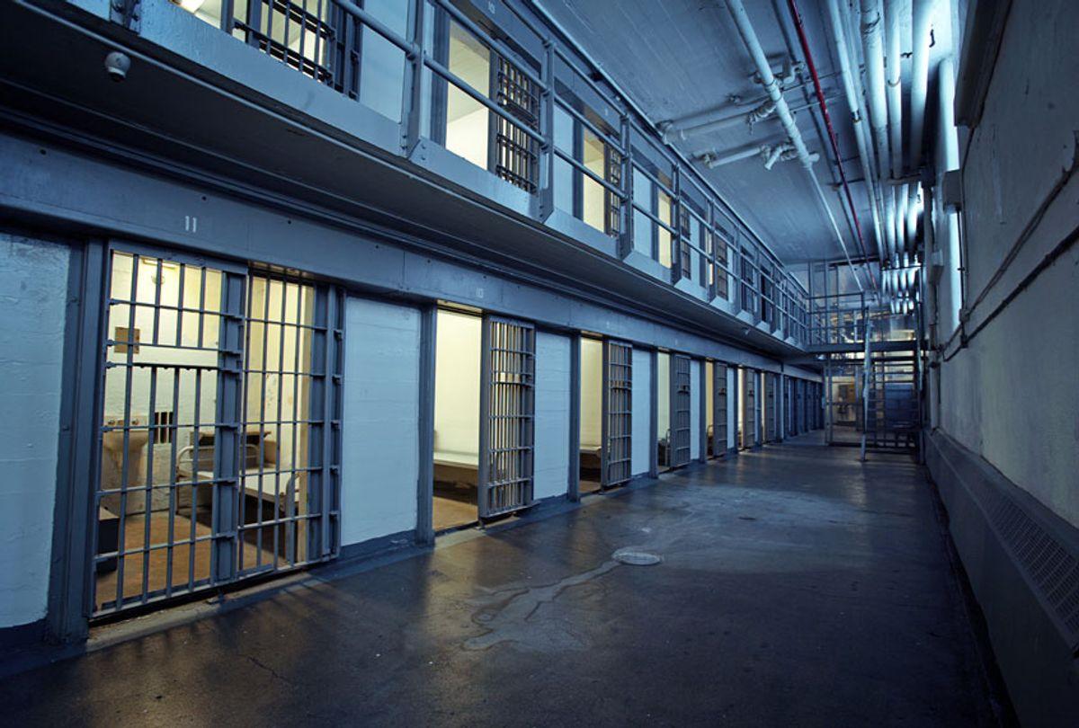 Empty prison hallway (Getty Images)