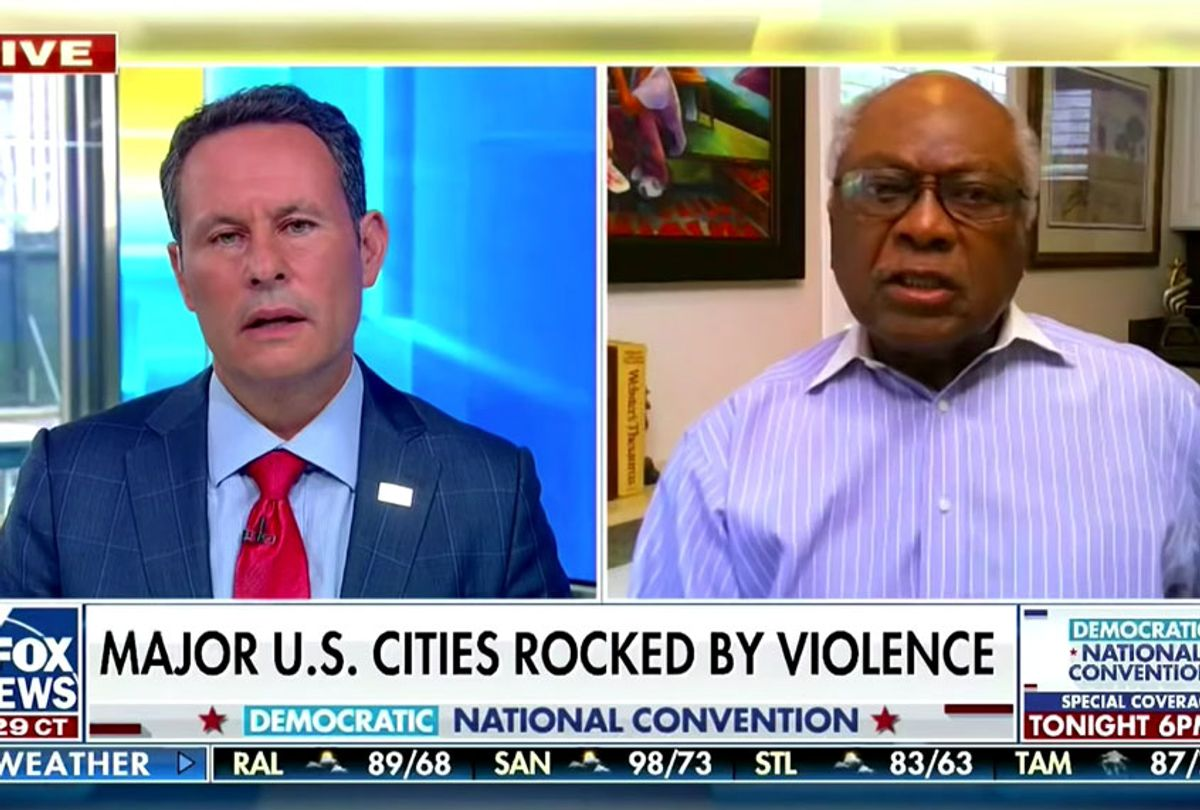 James Clyburn scolds Fox News host for blaming 'every Black person' for violence (Fox News)
