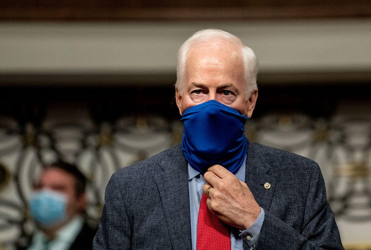 Senator John Cornyn (R-TX) (Erin Schaff-Pool/Getty Images)