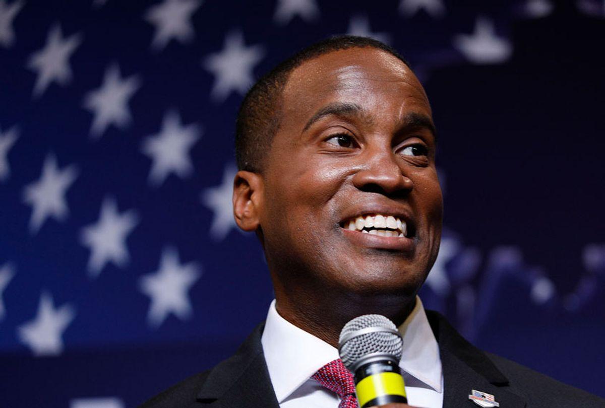 John James, Michigan GOP Senate candidate (Bill Pugliano/Getty Images)