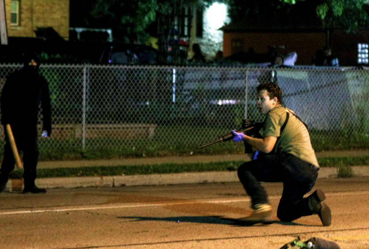 Kenosha gunman, Kyle Rittenhouse (Tayfun Coskun/Anadolu Agency via Getty Images)