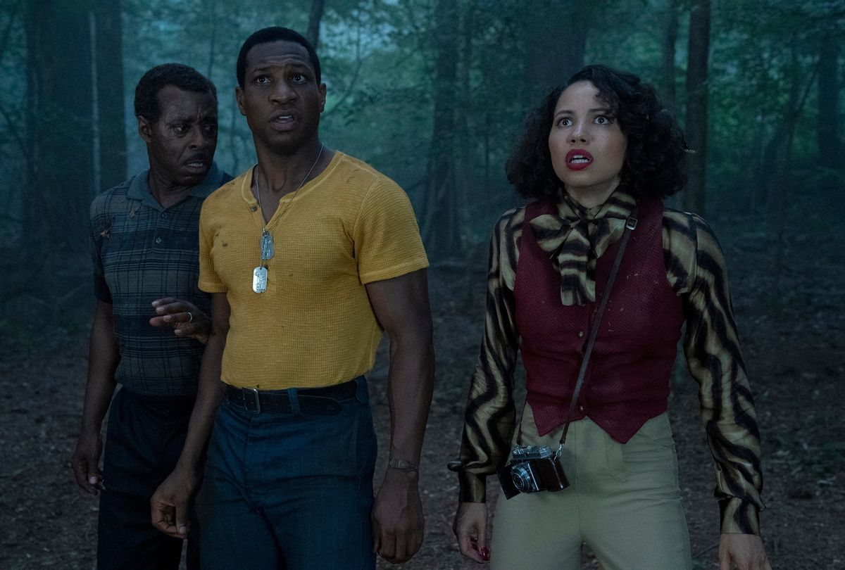 """Courtney B. Vance, Jonathan Majors and Jurnee Smollett in """"Lovecraft Country"""" (HBO)"""