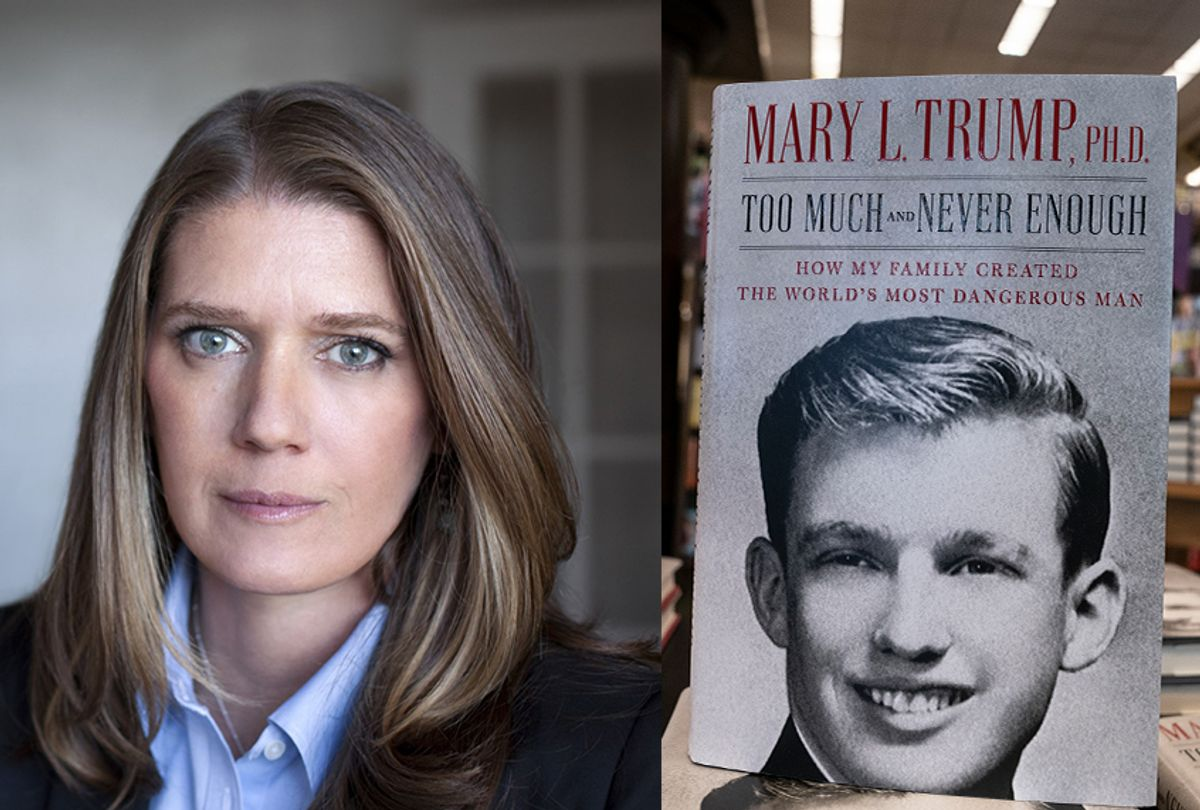 """Mary Trump, the niece of Donald Trump and author of """"Too Much and Never Enough: How My Family Created the World's Most Dangerous Man"""" (Peter Serling/Getty Images/Lev Radin)"""
