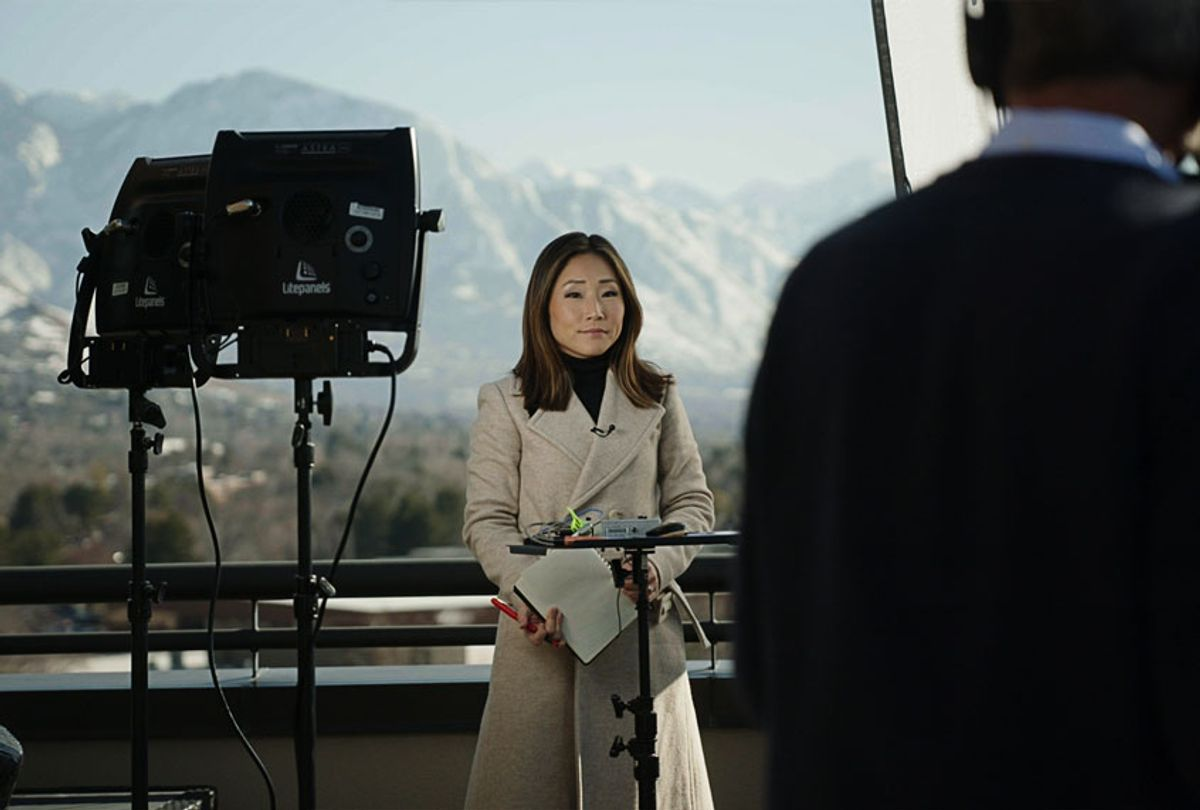 """CNN national correspondent MJ Lee in """"On the Trail: Inside the 2020 Primaries"""" (CNN/HBO Max)"""