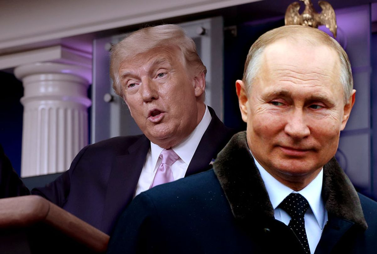 Vladimir Putin and Donald Trump (Photo illustration by Salon/Getty Images)