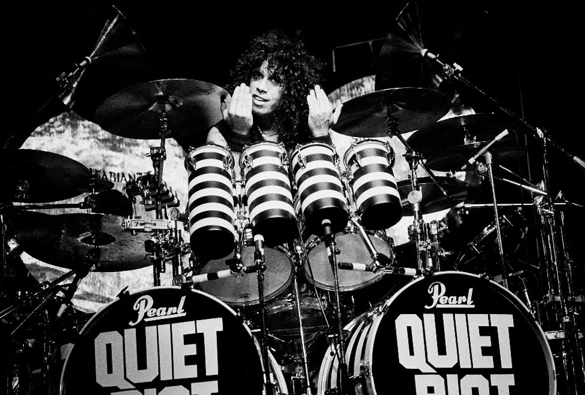 Rock musician Frankie Banali, of the band Quiet Riot ( Paul Natkin/Getty Images)