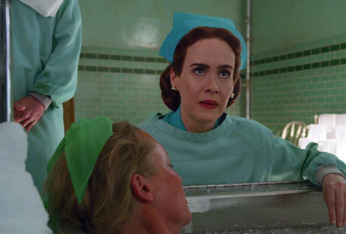 """Sarah Paulson in """"Ratched"""" (Netflix)"""